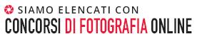 Siamo elencati con Concorsi di Fotografia Online