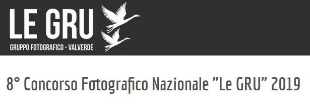 """Concorso Fotografico Nazionale """"Le GRU"""""""