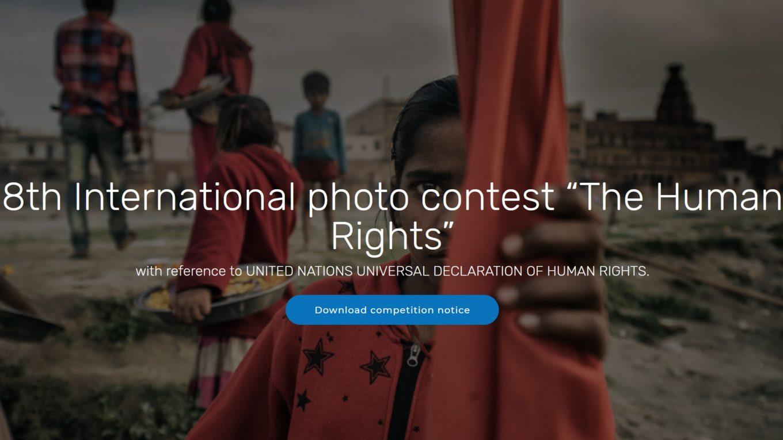 """Concorso Fotografico Internazionale """"I Diritti dell'Uomo"""